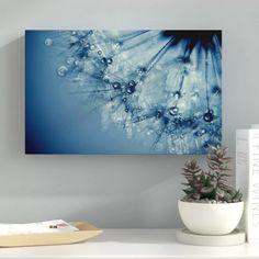 Ebern Designs 'Blues' Graphic Art Print on Canvas Size: H x W x D, Format: Wrapped Canvas, Matte Colour: No Matte Carpet Cleaner Solution, Nature Scenes, Home Decor Furniture, Art Reproductions, Art Techniques, Clear Acrylic, Canvas Size, Wrapped Canvas, Decorative Pillows