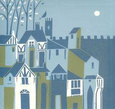 York Original Linocut Limited Edition by TheBluebirdGallery, £65.00