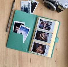 Instax Mini album for 120 photos of your sweet memories. The Mini album is the perfect way to keep all your captured moments organised. - Album is available in mint, pink, orange, brown or creamy white color. - Album size: 115 x 200 x 20 mm.