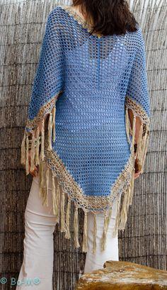 Resultado de imagem para bo-m crochet kimonos