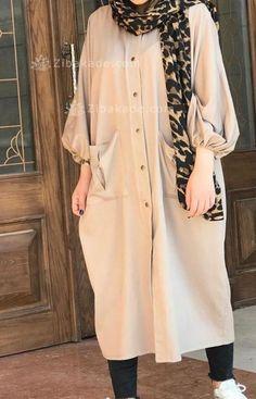 آموزش دوخت مانتو در مرحله ی دوخت ابتدا - زیباکده Duster Coat, Jackets, Stuff To Buy, Outfits, Projects, Fashion, Down Jackets, Log Projects, Moda