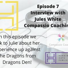 I chatted to Jules White @compassiocoaching about being an entrepreneur & what it's like to stand in front of the Dragons in Dragons Den! #dragonsden #dragons #entrepreneur #entrepreneurlife #compassiocoaching #podcasts #podcasting #podcas