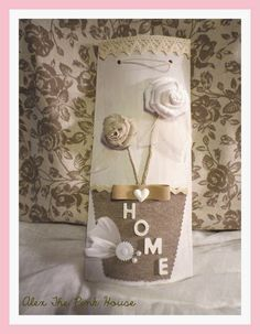 Alex The Pink House: Tegole shabby chic