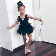 A miniature ballerina.