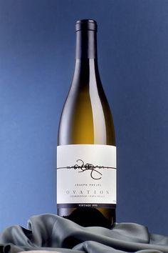 Ovation | Wine Label Design by Auston Design Group #taninotanino