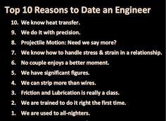 reasons date engineer