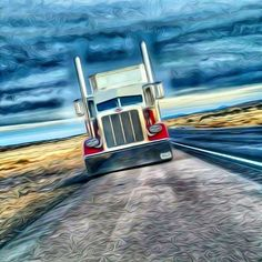 This Is A Long Live Peterbilt! Lovely! The Bull Haulers On The Road. Big Jake