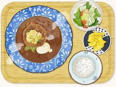 오또꼬노 함바그밥상