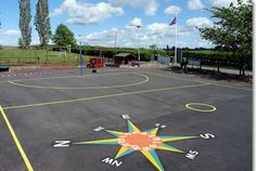 Playgrounds for Schools | Playground Painting Hereford, Worcester - Parallel Lines