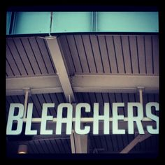 Budweiser Bleachers best seat in the house rain or shine