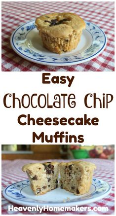 Of all the cheesecake topped muffins I've shared, these Chocolate Chip Cheesecake Muffins have turned out to be a favorite!