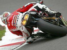 Regis Laconi Ducati 999 RS fire exhaust