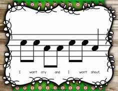 Apple Tree {Steady Beat} {Ta TiTi} {Do}#Kodaly #games #generalmusic