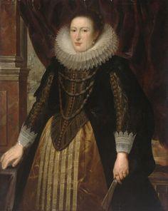 ab. 1620-1630 Flemish Painter - Portrait of a Woman