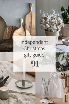91 Magazine shares gift ideas from independent makers and shops - covering items for the home, for foodies, for kids and for well-being. Christmas Gift Guide, Christmas Shopping, Christmas Gifts, Print Magazine, Creative People, Indie Brands, Interior Inspiration, Foodies, Shops