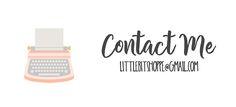 Contact Me: Little Bit Shoppe