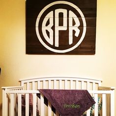 """""""Baby gift? Housewarming? You name it. Who doesn't covet a little monogramming??"""""""