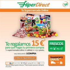 15€ gratis en tu carrito de alimentación @Hiper_Direct con código:1COMPRA http://www.expotienda.com/index.asp?categoria=3