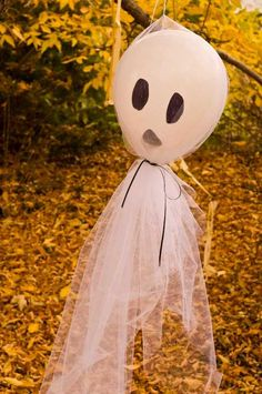 Decoración sencilla y divertida para tu fiesta de Halloween.  #decoración #Halloween #barata #ideas