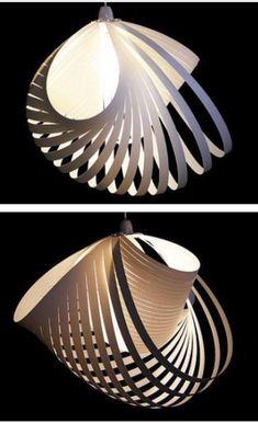 Diy lampe papier