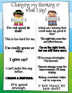 Encouraging and reinforcing a Growth Mindset in the Classroom can help students focus on improving their abilities and skills, instead of having a fixed mindset that is geared more on the talent not the effort. So, if you're a teacher who believes that a Coping Skills, Social Skills, Life Skills, Behavior Management, Classroom Management, Professor, Fixed Mindset, Conscious Discipline, Social Emotional Learning