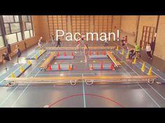 Pac-man in de gymles is een leuk spel die je uitstekend kunt spelen in de gymles, maar ook buiten op straat of op het sportveld. Pac Man, Physical Education Activities, Kids Learning Activities, Leadership Activities, Group Activities, Health Education, Team Building Skills, Team Building Activities, Youth Games