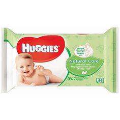 Huggies natural care billendoekjes (aanbieding kruitvat of blokker 1 euro per pak)