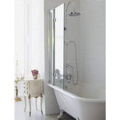 Shower and bath bined wet room 30 small bathroom design ideas 30 small bathroom design ideas shower bath in small bathroom 50 bathroom decorating ideas [. Shower Over Bath, Small Bathroom With Shower, Small Bathtub, Small Space Bathroom, Shower Tub, Small Spaces, Bad Inspiration, Bathroom Inspiration, Cosy Bathroom