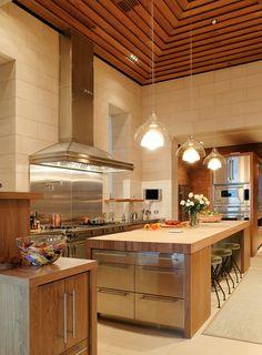 Pebble Beach kitchen. CA. BAR Architects.