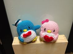 Crochet Penguin Sam And Amy Doll Toy By DDs Crochet - Free Crochet Pattern - (ravelry) :-)