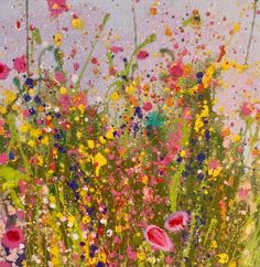 *NEW* Sparkling Days Small, Miniature Original Oil Paintings & Art | Yvonne Coomber