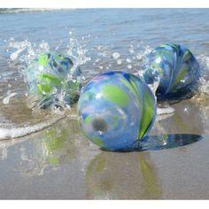 hand blown glass floats