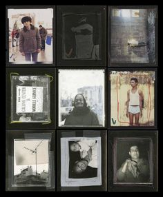 """Magnum Photos Don't miss your chance to buy Jim Goldberg's """"Proof"""" for only $6 in the ICP - International Center of Photography store. It's printed in an edition of 1,000 and ten of the 1,000 zines come with a """"golden ticket"""" that is redeemable for an original polaroid taken by Jim. -->http://bit.ly/14FWhdA Photo © Jim Goldberg/Magnum Photos Collage titled 'Contact'. Part of Jim Goldberg's 'Proof' project."""