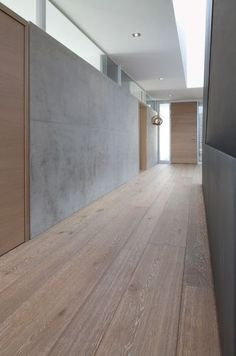 Eiche Bordeaux Parquet Flooring, Hardwood Floors, Front Porch Design, Curved Sofa, Industrial House, Concrete Wall, Home Pictures, Future House, Bordeaux