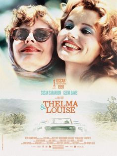 Réalisé par Ridley Scott (1991) Thelma Louise, Thelma And Louise Movie, Movies And Series, Cult Movies, Movies To Watch, Movies And Tv Shows, Buddy Movie, Martin Scorsese, Brad Pitt