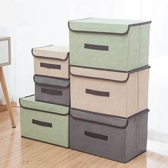 """Organize toys, clothes or knick-knacks in your home with the amazing Devin Multifunctional Fabric Storage Organizer Box.  Foldable and space saving.  Made from a premium non-woven fabric.  Free Worldwide Shipping & 100% Money-Back Guarantee      SIZE DIMENSION   S 10"""" x 7"""" x 6""""   L 14"""" x 9"""" x 9""""    Note: Sizes are in inches."""