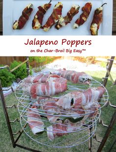 Ever since getting a cooking rack for my Char-Broil Big Easy I've been making tons of dishes I would normally make on my grill or in the oven. Like these jalapeno poppers. In no time I can make a big … Continue reading →