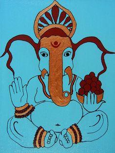 Large-Eared Ganesha - Kruti Shah