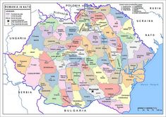 Romania Mare Harta Map Great Romania in NATO OTAN Ferdinand, Folk, Country, Pictures, Infographics, Flags, Events, Traditional, Photography