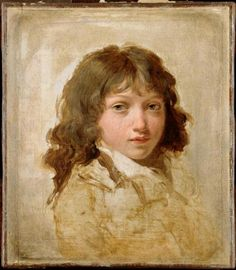 Louis Léopold Boilly  Portrait of the Artist's Son