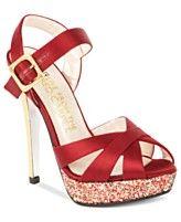 E! Live From the Red Carpet Shoes, E0040 Platform Evening Sandals