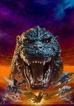 生頼範義 / ゴジラ / Noriyoshi Ohrai / Noriyoshi Orai / Godzilla