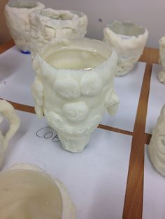 RoobieDoo Projects - Recycled Roman Pots. Year 3, Leeds, Yorkshire.