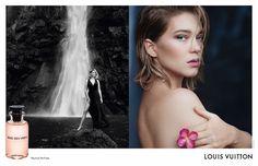 Léa Seydoux na campanha do novo perfume da Louis Vuitton (Foto: Divulgação)