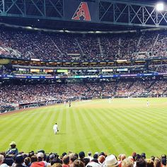April 4, 2016 - Opening Day at Chase Field, the home of the Arizona Diamondbacks..