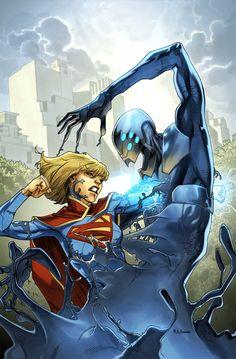 Supergirl 11 Cover by *MahmudAsrar