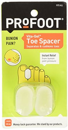 Find best price for Profoot Care Vita-Gel Toe Spacer 1 ea Bunion Pads, Sport Diet, Gel Toes, Vitamin E, Body Care, Healthy Life, Skincare, Nutrition, Wellness