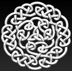 Celtic Pendant - Created with ZBrush