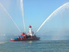 SFFD Fireboat ★。☆。JpM ENTERTAINMENT ☆。★。