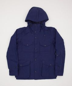 Nanamica Gore-Tex Cruiser Jacket - Ink Blue - Superdenim